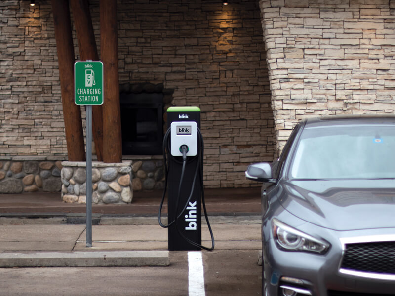 Blink Charging: Are Hotels the Answer to Road Trips with an Electric Vehicle?