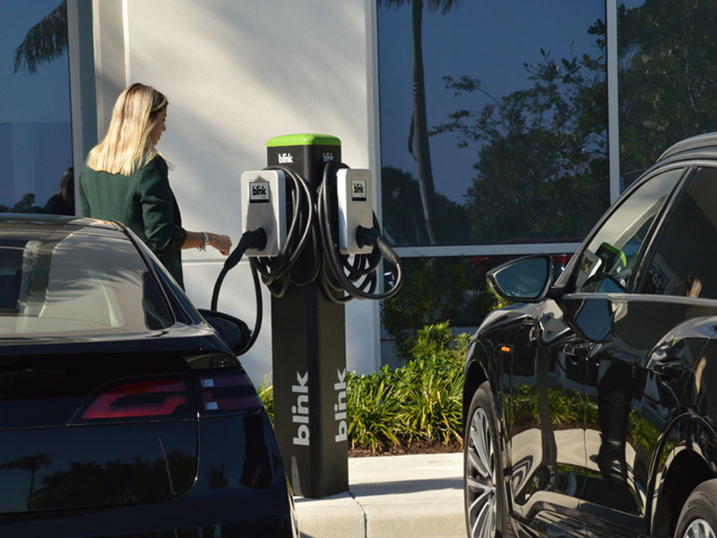 The Power of Blink Charging's Network and EV Charging Stations